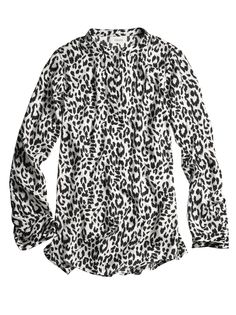 The WOW List: Cheetah Veronica Top #chicos