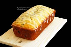 Blueberry Lime Bread