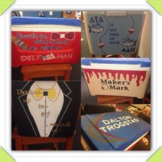 Fraternity Cooler Painting
