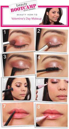 elf VDay Makeup