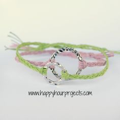 The Ten Minute Bracelet tutorial