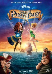 TinkerBell and the Pirate Fairy Disney DVD