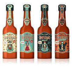 Packaging by Steve Simpson, via Behance. love the skull