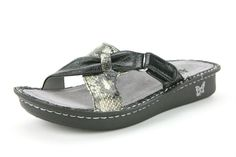 Alegria Violet Black Multi - on closeout for $59! | Alegria Shoe Shop #AlegriaShoes #Sandals #Spring2014 #Closeouts