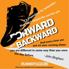 Monday Motivation: Always Moving Forward | Runner's World