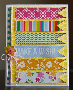 Rain's To Do: Add string or stitching for a border. Use ribbons as tags and background.