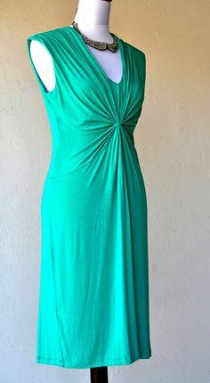Calvin Klein Dress in Jewel Green