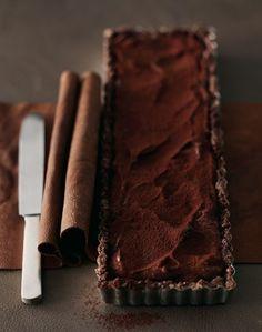 Chocolate tart!