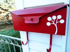 Vinyl Mailbox decor