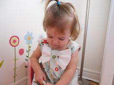 Let's Go Fly a Kite Bow Dress in sizes 1T or 2T by babygraybee, $32.00
