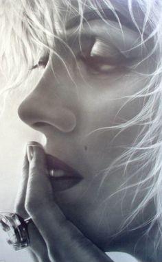 Marilyn Monroe: pencil drawing