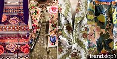 Fall Winter 2014-15, folk tapestry, silhouettes
