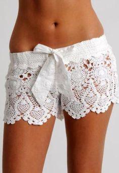 Crochet Shorts--
