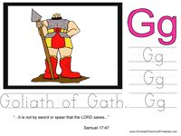 G for Goliath