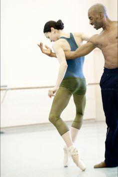 Diana Vishneva and Desmond Richardson  By Nikolay Krusser - Ballet, балет, Ballett, Bailarina, Ballerina, Балерина, Ballarina, Dancer, Dance, Danse, Danza, Танцуйте, Dancing, Russian Ballet