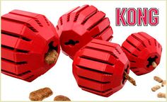 Puzzle toys are super popular, and why shouldn't they be? Toys and treats together are the best of both worlds for your pup, such as this awesome Stuff-a-Ball from the experts at KONG. This toy is perfect for stuffing with snacks so your pup can entertain himself for hours. Not only does it provide your pup with a snack and a chew toy, but the Stuff-a-Ball also cleans your dog's teeth and massages his gums. Available in small, medium, large, and X-large. From $9