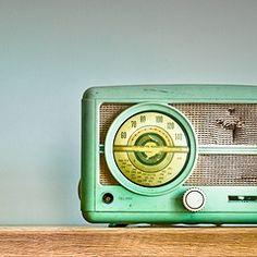 turquoise radio
