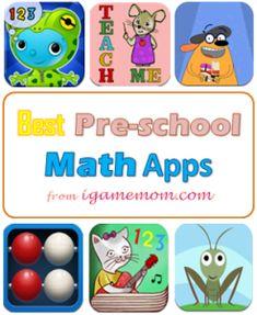 Best Educational Apps for Kids - Best PreSchool Math Apps | iGameMom