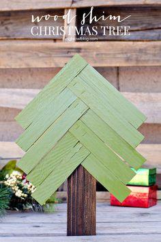 Wood Shim Christmas