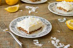 Cashew Dessert Squares | Huffington Post Feature