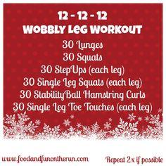 Wobbly Leg Workout