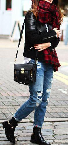 Bufandas Tartán | La Chimenea de las Hadas | Blog de Moda y Lifestyle|
