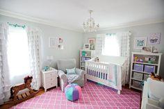 little girls, dream, girl nurseries, nurseri reveal, pink