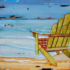 Beach Chair at Beach