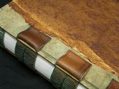Leather Strap Binding detail by Erin Zamzrla