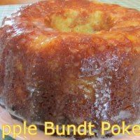 PINEAPPLE BUNDT POKE CAKE | Moore or Less Cooking Food Blog