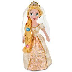Rapunzel Plush Bride Doll - 20''   Plush   Disney Store