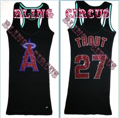 OMG!! Angels of Anaheim Mike Trout by BlingCircus $44.99