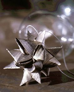 make German star ornaments