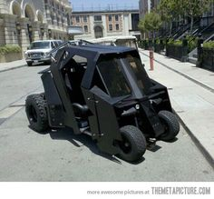 Batman's Golf Cart