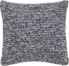 "Knit Sweater Pillow B/W 23x23"" in pillows 