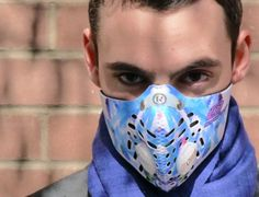Respro® Skins™ pollution mask - GRAFFITI #matchyourstyle