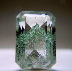 The Moldy Phantom. Quartz with Celadonite