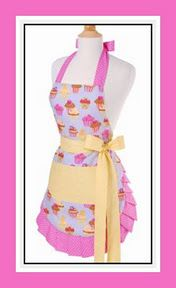 Introducing the exciting and sexy flare of a Flirty Apron into the kitchen... #gifts