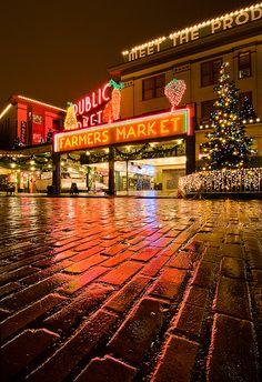 Christmas in Seattle, Washington