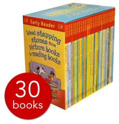 A giant 30-book collection of early readers that is available at a great price, these books are just perfect for those children looking to move on from picture books to the next step in their reading journey.