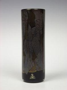 Isle of Wight Studio Glass black 'Azurene' glass vase. £60.00, via Etsy.