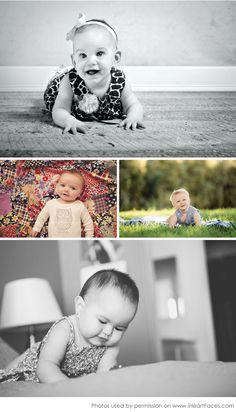 More Older Baby Photos to Inspire You via iHeartFaces.com