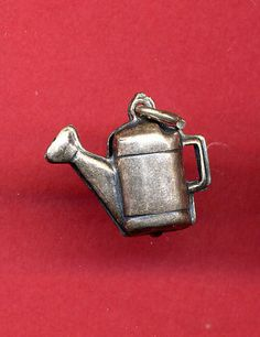 Vintage Sterling Charm Watering Can