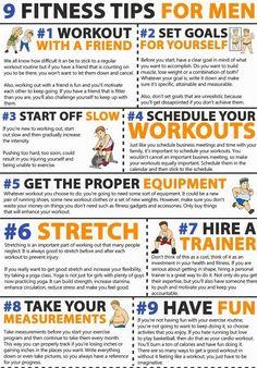 9 Fitness Tips for Men