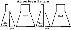 Another apron dress pattern.