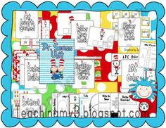15 Dr. Seuss activities  Dr. Seuss day March 2nd