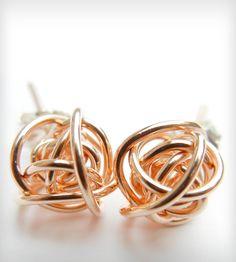 style, knot stud, accessori, stud earrings, studs earrings, jewelry earrings studs, knots, jewelri, thing