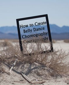 Tips to inspire your creative process and to make choreography a little less scary!