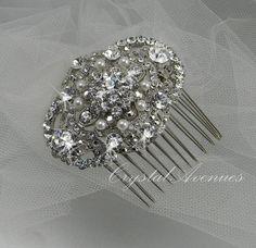 rhinestones, vintage hair, rhineston hair, weddings, hair pieces, hair accessori, wedding hairs, accessories, hair combs