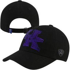 Top of the World Kentucky Wildcats Ladies Butterfly Rhinestone Adjustable Hat - Black